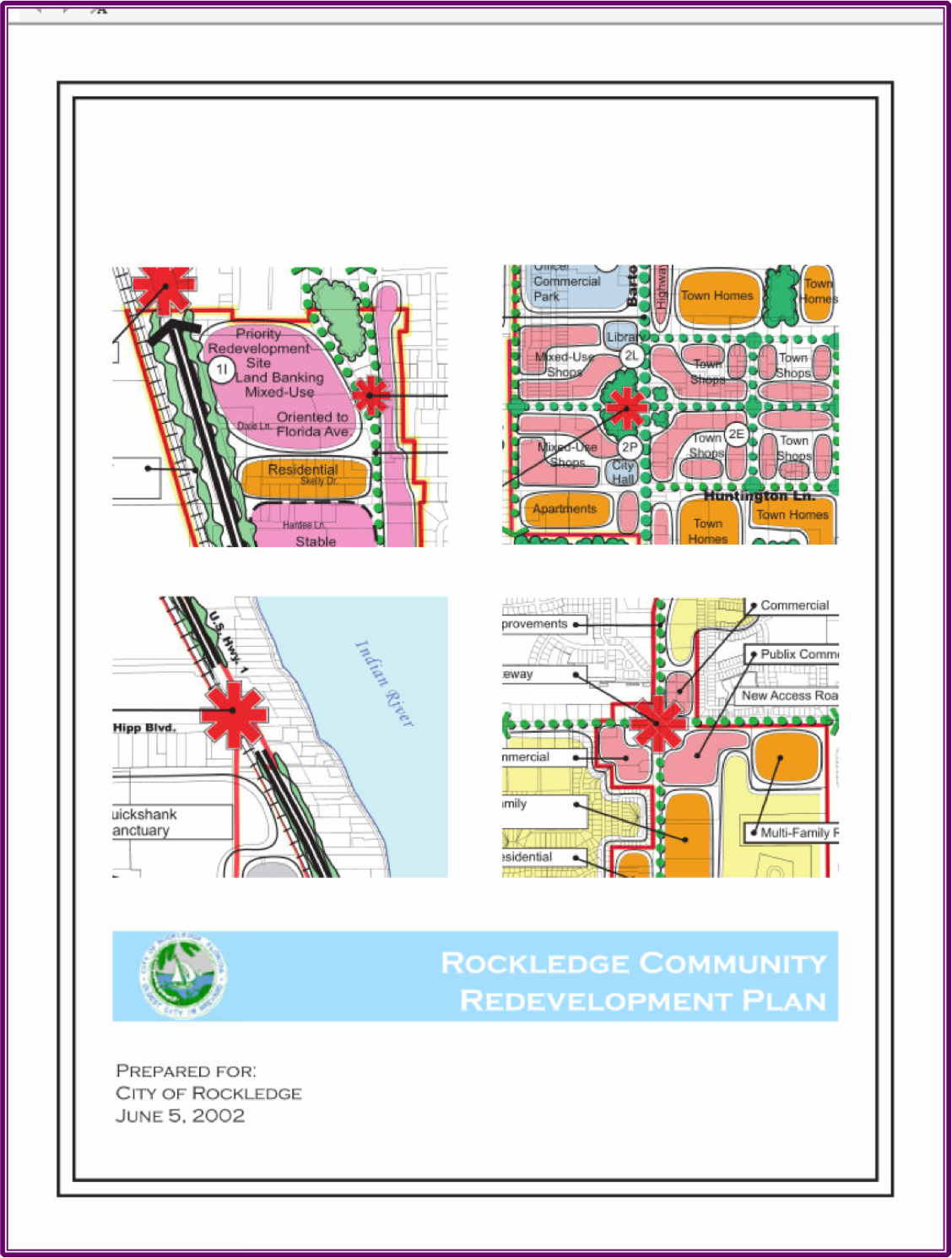 Rockledge Community Redevelopment Plan