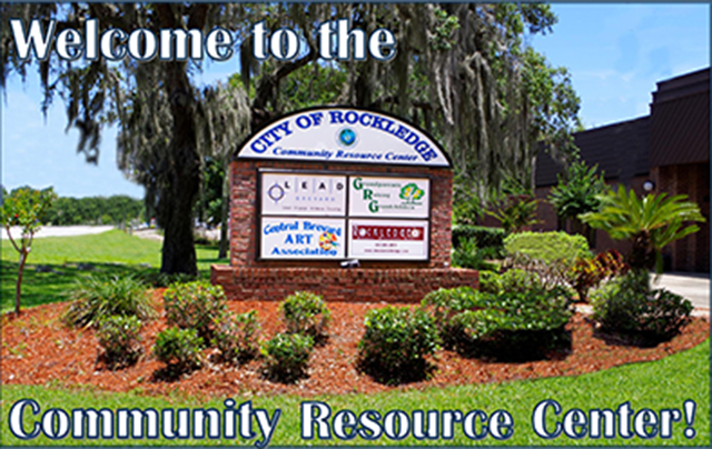 CRC welcome sign